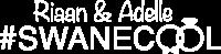 Swanecool logo wit